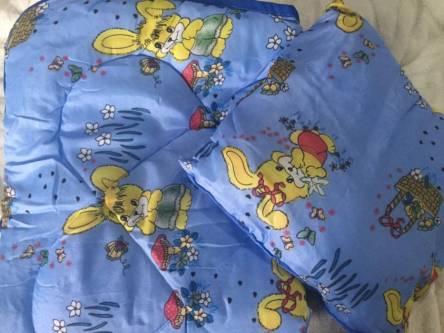 Детское одеяло силиконизированное волокно + подушка  - фото 5