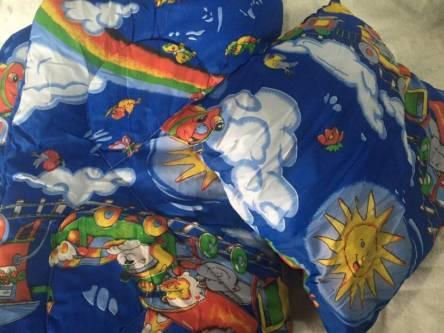 Детское одеяло силиконизированное волокно + подушка  - фото 2