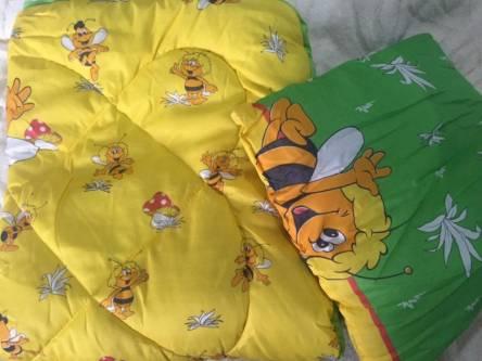 Детское одеяло силиконизированное волокно + подушка  - фото 8