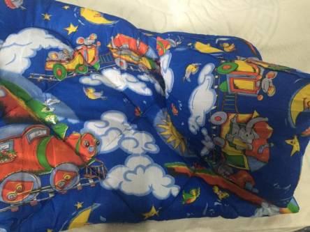 Детское одеяло силиконизированное волокно + подушка  - фото 9
