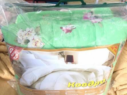 Фото  товара Двуспальное меховое одеяло
