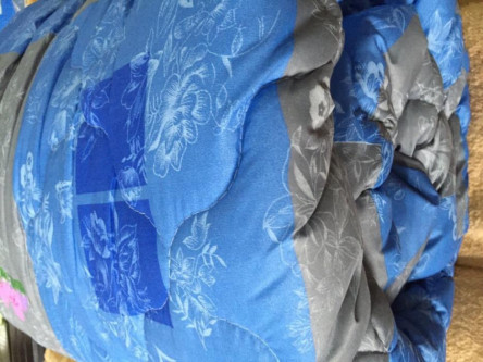 Двуспальное одеяло двойное микроволокно  - фото 5