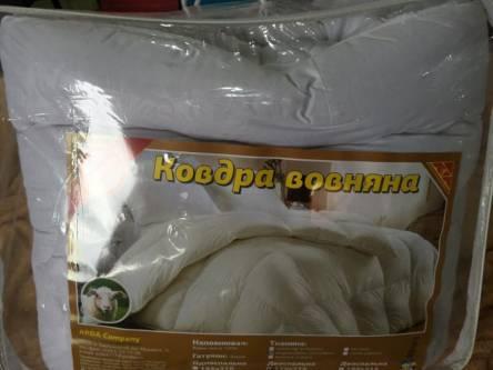 Фото  товара Двуспальное одеяло мирофибра однотонная