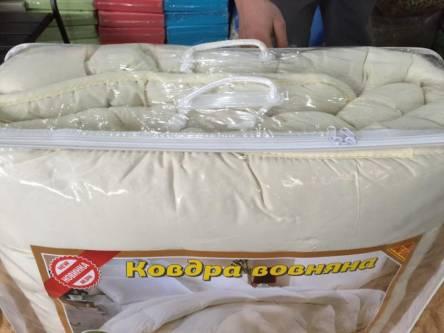 Двуспальное одеяло мирофибра однотонная - фото 3