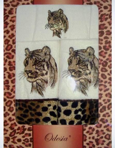 Комплект полотенец Тигр - фото 1
