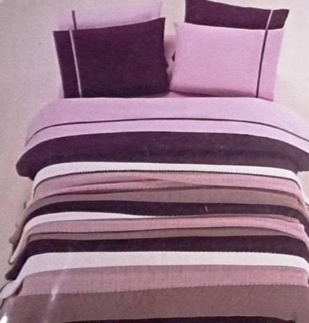 Комплект постельного белья с вязаным покрывалом - фото 3