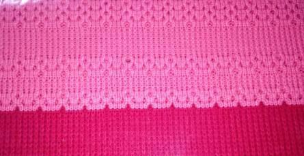 Комплект постельного белья с вязаным покрывалом - фото 4