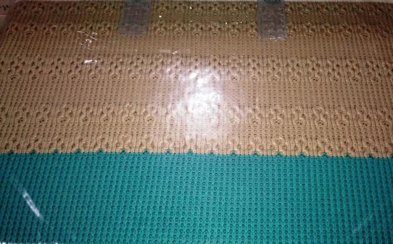 Комплект постельного белья с вязаным покрывалом - фото 5