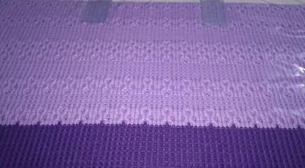 Комплект постельного белья с вязаным покрывалом - фото 7