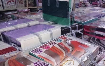 Комплект постельного белья с вязаным покрывалом - фото 9