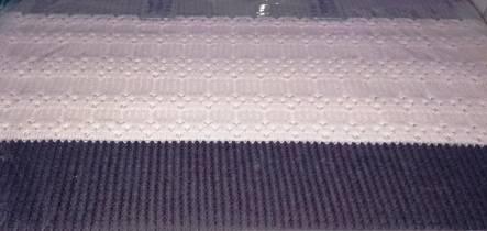 Комплект постельного белья с вязаным покрывалом - фото 8
