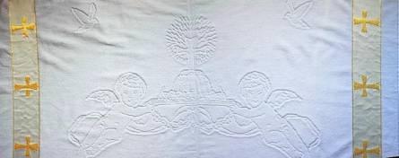 Крыжма для крещения турецкая VIP - фото 3