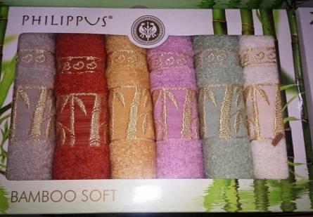 Кухонные полотенца Бамбук Софт-голд - фото 1