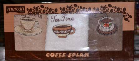 Кухонные полотенца Cofee Splah - фото 1