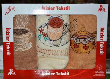Кухонные полотенца Капучино - фото 1