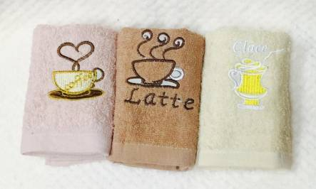 Фото  товара Кухонные полотенца Кофе 013