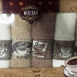 Фото  товара Кухонные полотенца Кофе Неделька