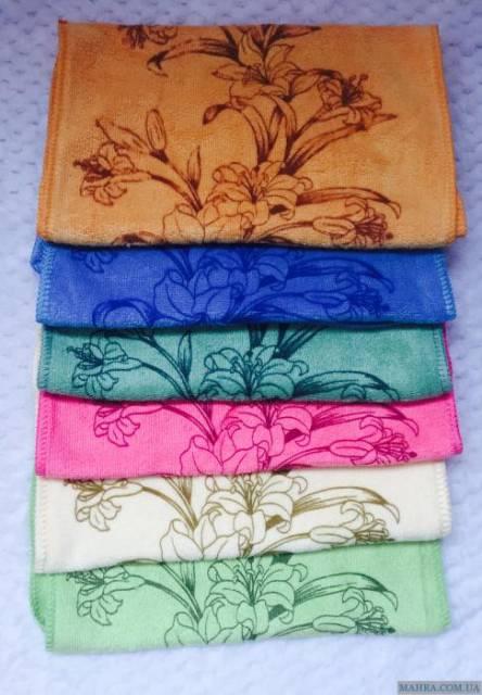 Фото  товара Кухонные полотенца Микрофибра Лилия