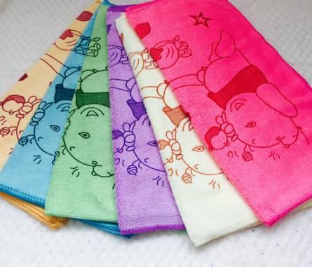 Фото  товара Кухонные полотенца Микрофибра Мишка Хепи