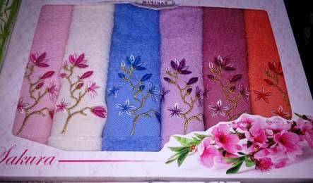 Фото  товара Кухонные полотенца Сакура 6-ка