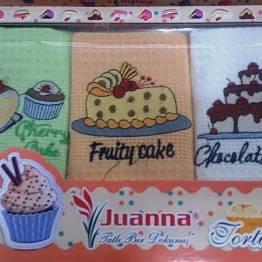 Фото  товара Кухонные полотенца Тортик - 02
