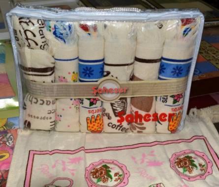 Кухонные полотенца в сумочке - фото 1
