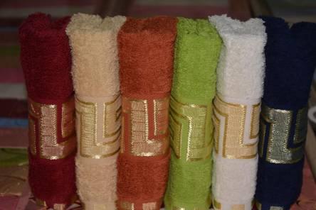Фото  товара Кухонные полотенца Версаче в сумочке
