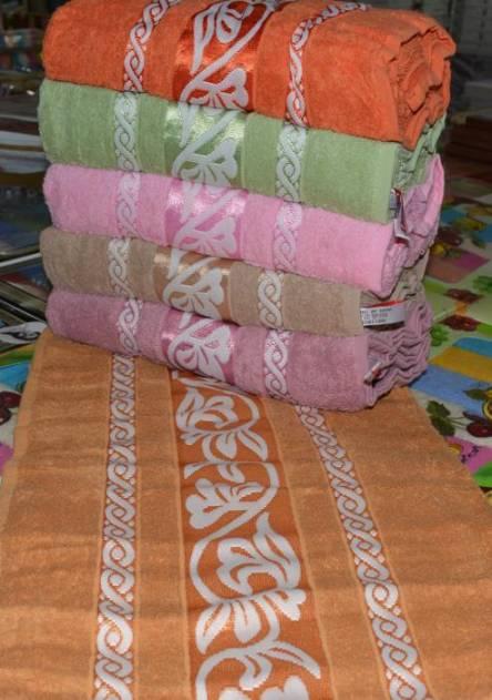 Фото  товара Лицевые полотенца Белый листик