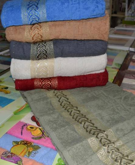 Фото  товара Лицевые полотенца Косичка