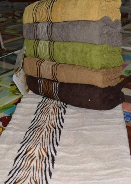 Фото  товара Лицевые полотенца зебра-01 Vip cotton