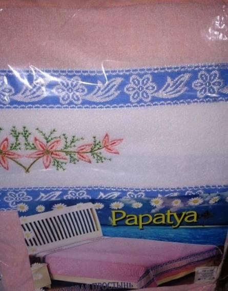 Махровая простынь Papatya - фото 1