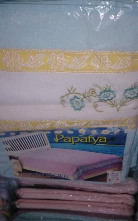 Махровая простынь Papatya - фото 2