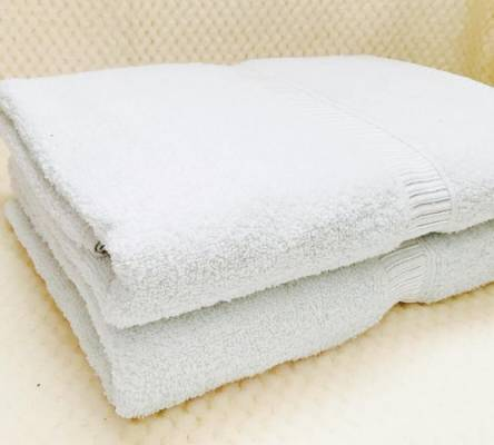 Белые полотенца - фото 3