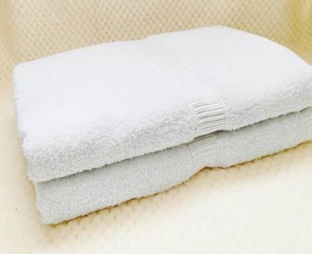 Белые полотенца - фото 1