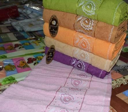 Фото  товара Метровые полотенца Листочек
