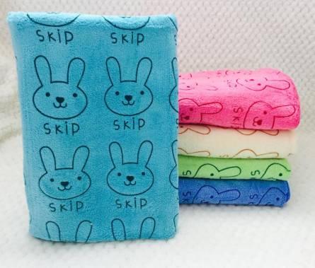 Метровые полотенца Микрофибра Мелкий Заяц - фото 2