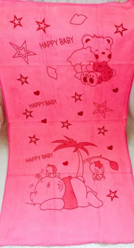 Фото  товара Метровые полотенца Микрофибра Мишка хепи
