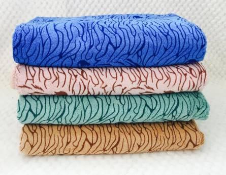 Фото  товара Метровые полотенца Микрофибра Тигры 01