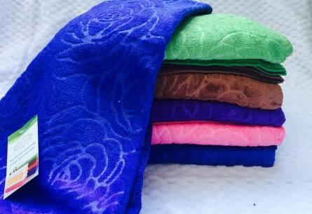 Фото  товара Метровые полотенца Роза Микрофибра 01
