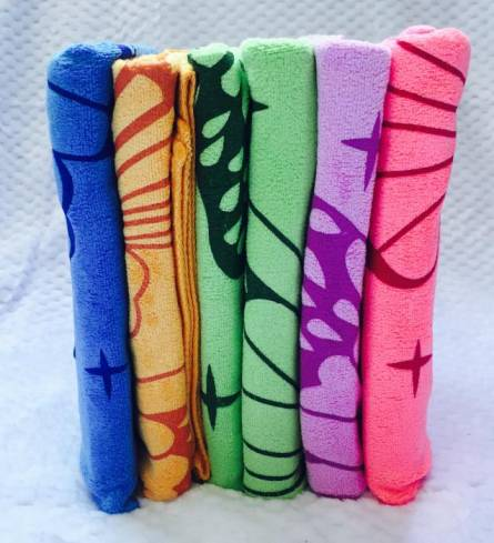 Фото  товара Метровые полотенца Бабочка Микрофибра