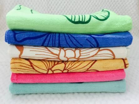 Фото  товара Метровые полотенца Цветок Микрофибра