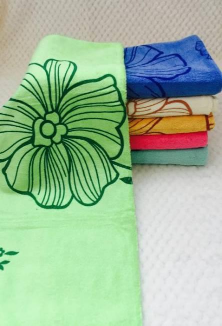 Метровые полотенца Цветок Микрофибра - фото 2
