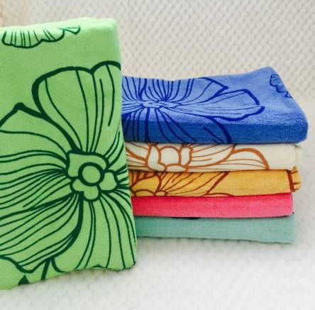 Метровые полотенца Цветок Микрофибра - фото 3
