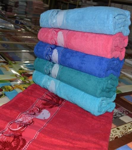 Фото  товара Метровые полотенца Яркий Дельфин