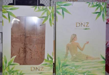 Набор бамбуковых полотенец DNZ 2-ка - фото 3