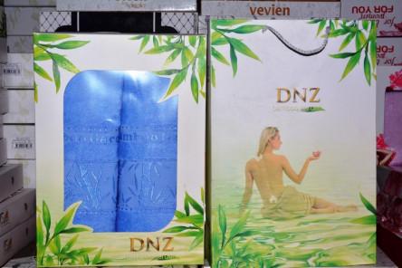 Набор бамбуковых полотенец DNZ 2-ка - фото 1