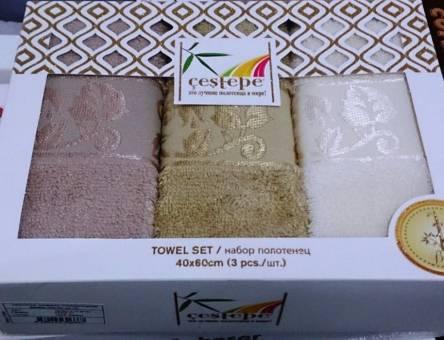 Набор кухонных бамбуковых полотенец Towel Set - фото 1
