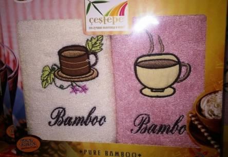 Набор кухонных полотенец Bamboo двойка - фото 1