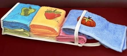 Фото  товара Набор кухонных полотенец Бананчик