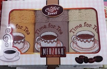 Набор кухонных полотенец Мerzuka coffe towel - фото 1